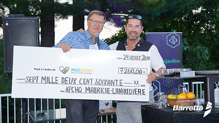 Merci à l'APCHQ Mauricie – Lanaudière!