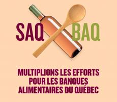 Campagne SAQ au profit de Moisson
